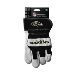 Baltimore Ravens Gloves Work Style The Closer Design By Sports Vault