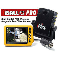Iball Digital Pro Wireless Magnetic Trailer Hitch Car Truck Rear View Camera