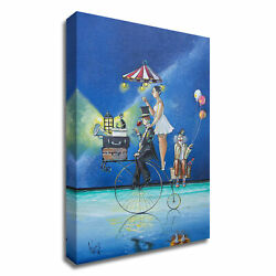 Tangletown The Circus Is Coming To Town By Ronald West On Canvas 8w909dc-2436