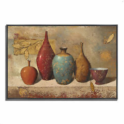 Tangletown Fine Art Leaves And Vessels By James Wiens Wall Art 610554-5738p126