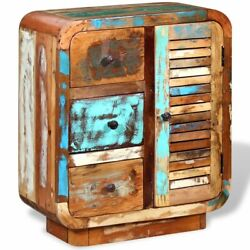 Solid Reclaimed Wood Sideboard Antique Retro Highboard Console Cabinet Dressers