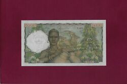 French West Africa Togo 1000 Francs 1955 P-48 Ef-au Rare Issue With Togo