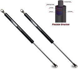 Beneges 2pcs Universal Gas Charged Lift Supports Spring Struts Shocks Dampers Fo