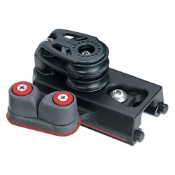 1 1/4in End Control - Double Sheave, Cam Cleat, Set Of 2 - Twin Pulley/cam-mat