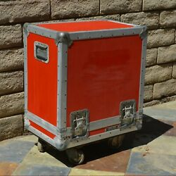 """Anvil Road Case Inside Dimensions. 14-3/8"""" X 22-1/8"""" X 22"""" High - With Wheels"""