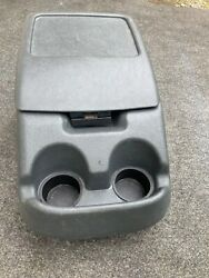 92-93-94-95-96 Ford F-150/250 Truck/bronco Bucket Seat Center Consoleandcup Holder