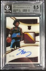 2019-20 Panini Immaculate Collection Red 25/25 Kevin Porter Jr. Bgs 8.5 Rc