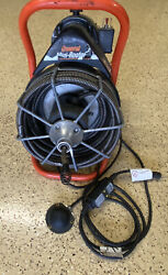 General Wire Mini-rooter 1/2 X 50' Cable Sewer Line Cleaning Drain Snake Great