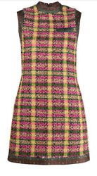 Tweed Shift Dress- With Tags- Rrp3900 Aud