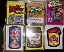 Six Base Sets Topps Wacky Packages Ans2 Ans3 Ans5 Ans6 Flashbacks 1 Ans11 Andlsquo05-08