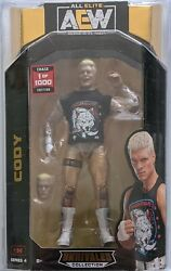 Cody Rhodes Chase Aew 1 Of 1000 New In Protector Case. All Elite Wrestling Rare