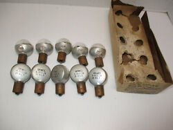 Aviation Light Bulb Grimes Mfg Co. A-3521-24 28volt Lot Of 10 New Old Stock