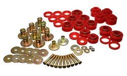 Energy Suspension Body Mount Set For Red 1968-1972 Chevy Chevelle/monte Carlo