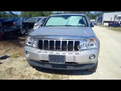 Rear Bumper With Chrome Accent Trim Plate Fits 05-10 Grand Cherokee 587166