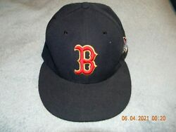 Nwot Boston Red Sox 2013 World Series Champions New Era Fitted Hat, Size 7