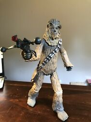 Disney Store Star Wars Talking Chewbacca 15 Articulated Figure Lights And Sounds