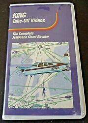 Complete Jeppesen Chart Review Pilot Flying Course King School Takeoff Vhs Video