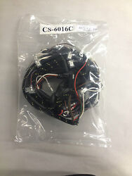 Triumph Wiring Harness 1969-1970 650 500 Tr6c T100c Cloth C Model Only