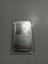 Silver Shield 'no Lie Gets To The Other Side' 1 Oz .999 Circulated Silver Bar