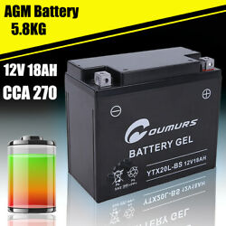Agm Battery For Seadoo Gtx 1995 1996 1997 1998 1999 2000 2001 Cca 270