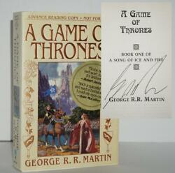 A Game Of Thrones Signed Arc 1st/1st Printing George R.r. Martin