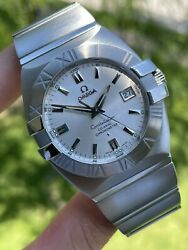 Mens Omega Constellation Double Eagle Co-axial Chronometer Watch 38mm - 1503.30