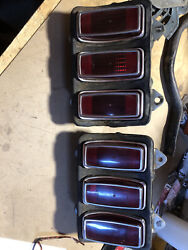 1969 Mustang Mach 1 Fastback Convertible Coupe Tail Lights 69