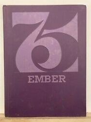 1975 Mansfield Christian High School Annual Yearbook Ohio Oh