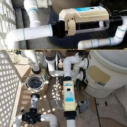 Pool Chlorine Generator System W/ Flow Switch And Salt Cell For 26k Gallon Pools