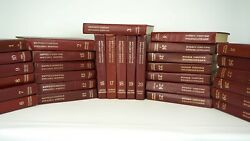 The Great Soviet Encyclopedia 1970s Russian Books 30 Volumes. 31 Books Vintage