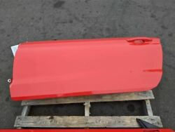 2015-2020 Ford Mustang Gt Ecoboost Driver Rh Coupe Red Door Assembly Oem