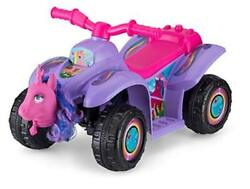 Toddler Kids Ride On Toy 6 Volt Battery 1.5-3 Years Old Purple Unicorn Quad