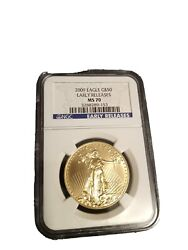 2009 Eagle Gold 50 Coin - Early Releases Ms 70 - Ngc
