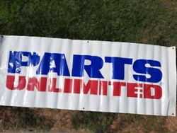 Parts Unlimited Banner Motorcycle 8ft X 3ft