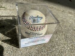 Rawlings Mlb Baseball 4th Of July Commemorative 2017 Game Ready Authenticated