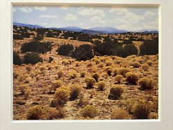 Eliot Porter Signed Tesuque New Mexico 1969 Limited Edition Dye Transfer Print