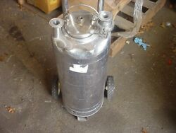 5 Gallon 316l Stainless Steel Pressure Tank 139 Psi