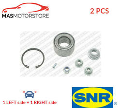 Wheel Bearing Kit Set Pair Front Snr R15440 2pcs I New Oe Replacement