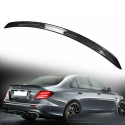 Carbon For Mercedes Benz W213 4dr Sedan A Look Rear Trunk Spoiler Wing