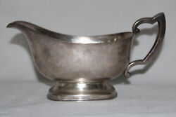 1930s Sterling Silver Gravy/sauce Boat By M. Fred Hirsch Co Inc