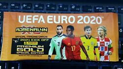 Panini Adrenalyn Xl Euro 2020 - 2021 Kick Off Limited Premium Gold Unopened Pack