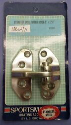 Boat Hatch Hinge 3 X 2-1/2 L.s. Brown 12086 Sportsmaster Stainless Steel