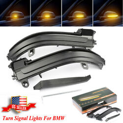 Dynamic Side Mirror Lamp Led Turn Signal Light For Bmw For Bmw 4 3 2 1 Series I3