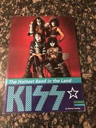 Kiss The Hottest Band In The Land Uk 1997 Collectible Book