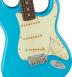 Sp Service Of Fender American Professional Ii Stratocaster Rosewood / Miami Blue