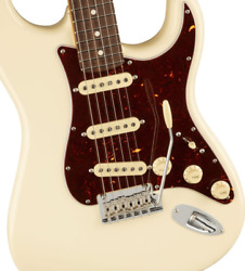 Sp Service Of Fender American Professional Ii Stratocaster Rosewood / Olympic Wh