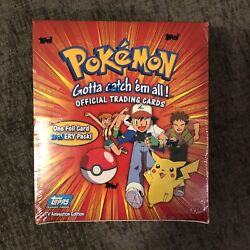 Topps Pokemon Tv Animation Edition Series 1 Booster Box Factory Sealed 36 Packs