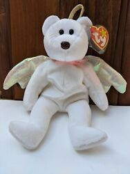 Ty Retired Rare Halo Beanie Baby With Errors. It Is In Excellent Condition.