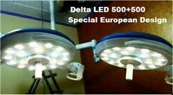 Led 500 + 500 Double Quality Operation Theater Surgical Lamp Dual Surgery Light