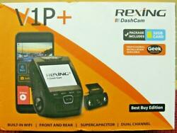 Rexing V1p Pro + Front And Rear Dash Cam In Original Box